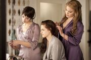 Alice, Bella, Rosalie Hochzeitsvorbereitungen