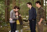 Bella, Renesmee, Edward und Jacob