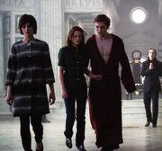 Alice, Bella, Edward Volturi