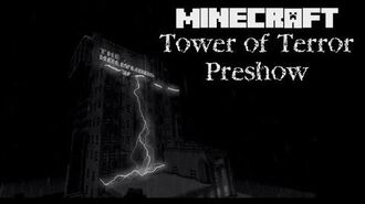 Minecraft Tower of Terror Preshow