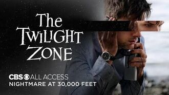 The Twilight Zone Nightmare at 30,000 Feet - Official Trailer CBS All Access