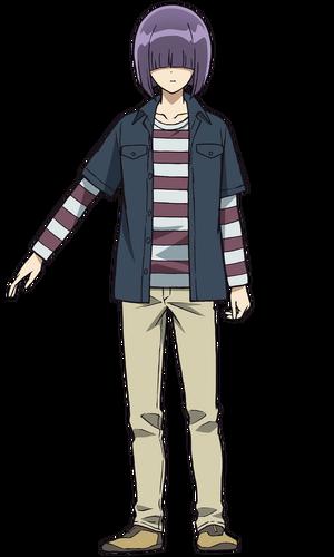 Shinnosuke anime design