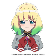 Mayura anime face design 1