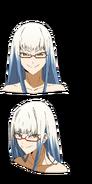 Arima anime face design