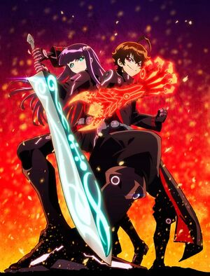 Twin Star Exorcists TV Anime Key Visual 1