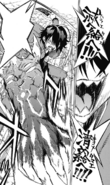 Rokuro activating his black charm
