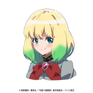 Mayura anime face design 2