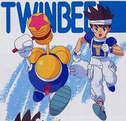 TwinBee and Light - Pop'n TwinBee - Rainbow Bell Adventures - 01
