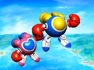 TwinBee and WinBee - Jikkyō Oshaberi Parodius - 01