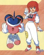 WinBee and Pastel - TwinBee Yahho! - 01
