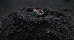 Ring on dirt