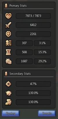 Primary Stats