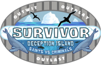 Survivor Deception island logo ver 2
