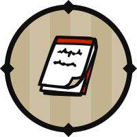 Red Notepad Icon