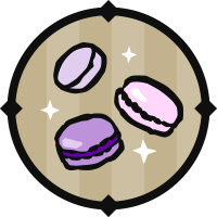 Leaping Macarons Icon