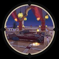 Scarabia Dorm Lounge (Night) Icon
