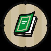 Green Textbook Icon