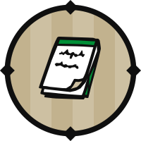 Green Notepad Icon