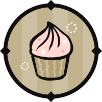 Lucky Cupcake Icon