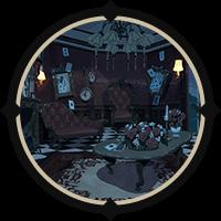 Heartslabyul Dorm Lounge (Night) Icon