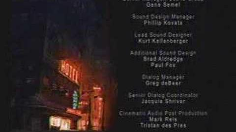 Twisted Metal Head On - Credits