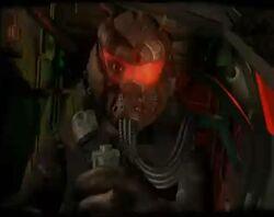 Warhawk hacked character select closeup