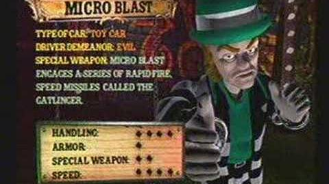 Twisted Metal 4 - Microblast's Info