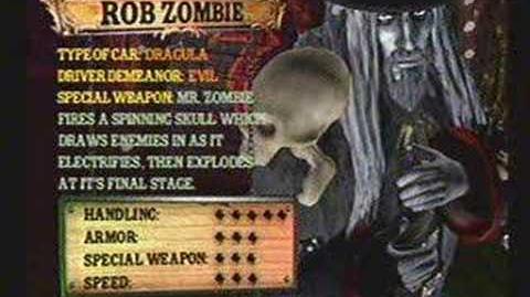 Twisted Metal 4 - Rob Zombie's Info