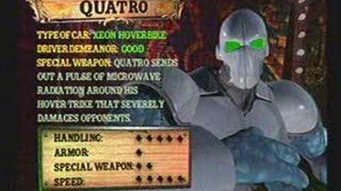 Twisted Metal 4 - Quatro's Info