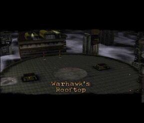 Warhawk`s rooftop