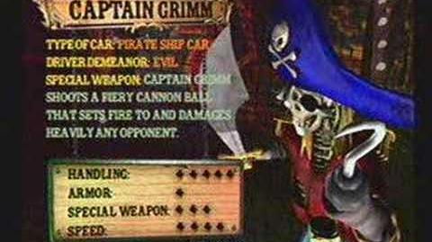 Twisted Metal 4 - Captain Grimm's Info