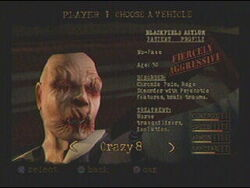 no face twisted metal wiki fandom powered by wikia rh twistedmetal wikia com twisted metal black instruction manual Twisted Metal Black Gameplay