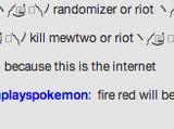 Twitch Plays Pokémon FireRed Version