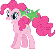 Pinkie pie and gummy by supermatt314-d4gotmj