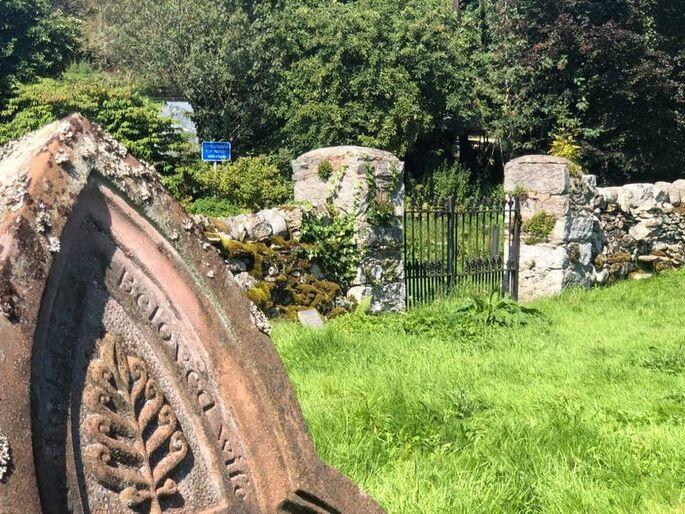 Adrian head shot where howie and gardener were by rowan's grave