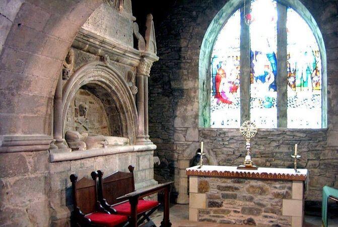 Greyfriars chancel