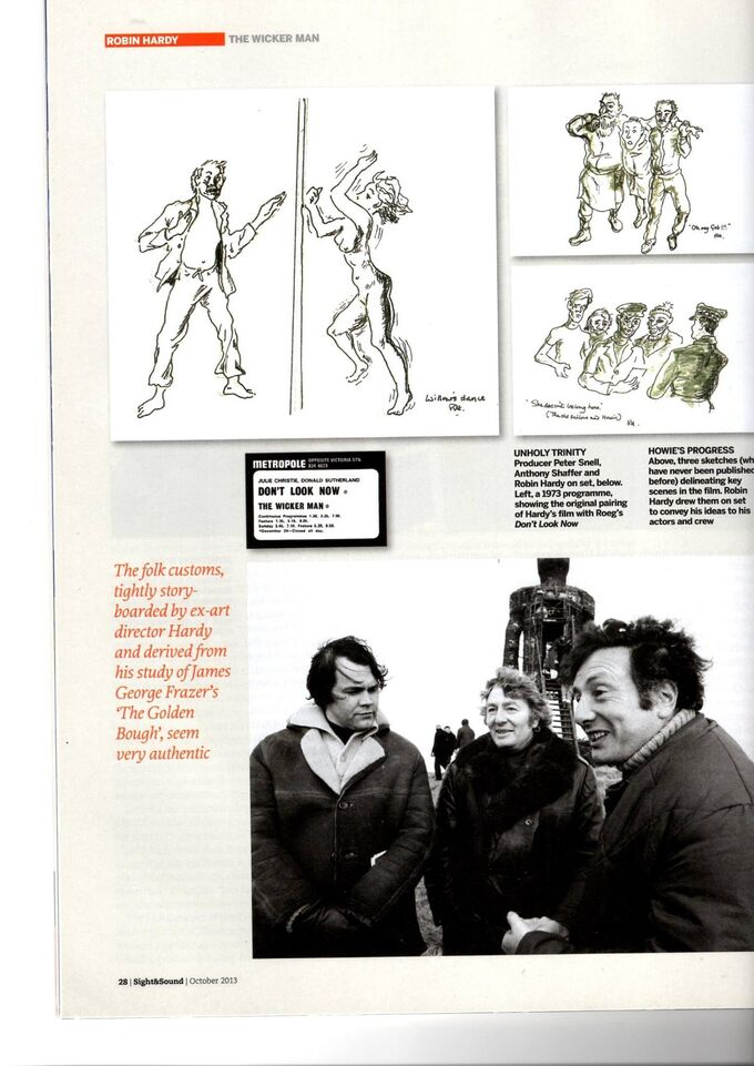 Robin hardy's drawings