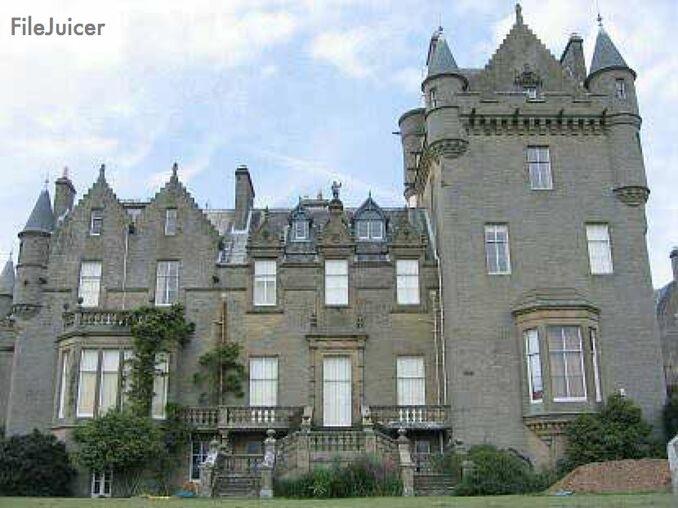 Wicker Man Locations - Castle Kennedy-7