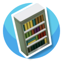 Encyclopedia-Bookcase-I-Icon