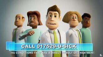 Two Point Hospital BONUS - U SICK Phone Call (HIDDEN CONTENT)
