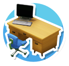 Office-Desk-Icon