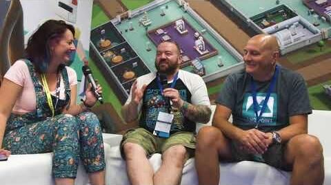 Two Point Hospital Gamescom 2018 Developer Interview