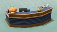 Reception Desk SM Front