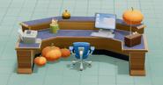 Reception Desk SM Back