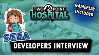 Two Point Hospital - PC Gamer Weekender 2018 - SEGA Live Stream