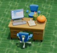 Office Desk SM Back