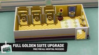 Golden Bathroom - Hospital Pass