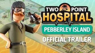 Two Point Hospital Pebberley Island (Official Trailer) PEGI UK