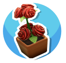 Rosebush-Icon