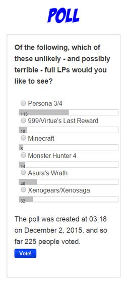 Poll December 2015